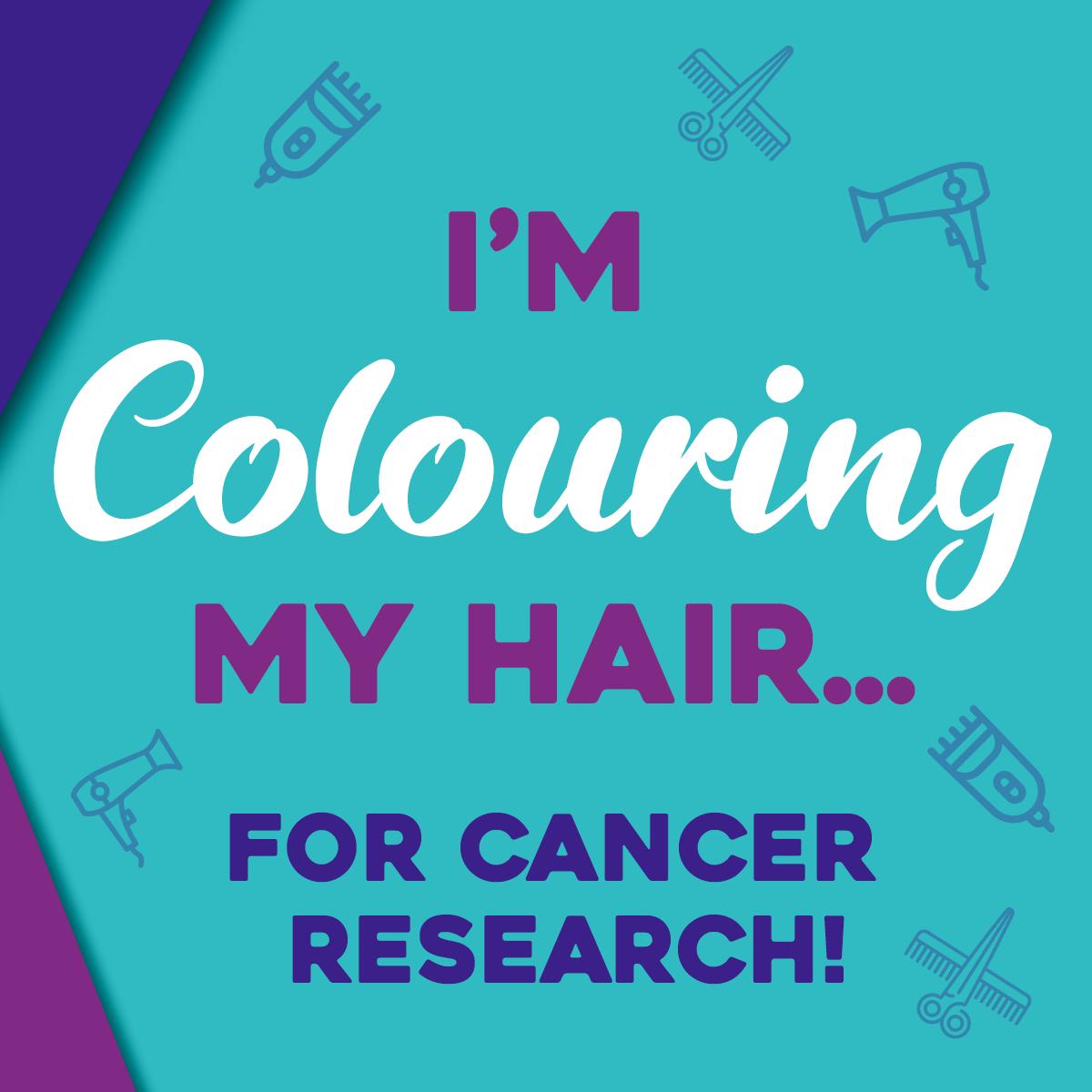 Hair Dare social post - Colouring